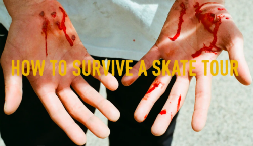 How to Survive a Skate Tour